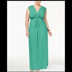 Love Squared Women's 1x Plus Size Maxi Dress
